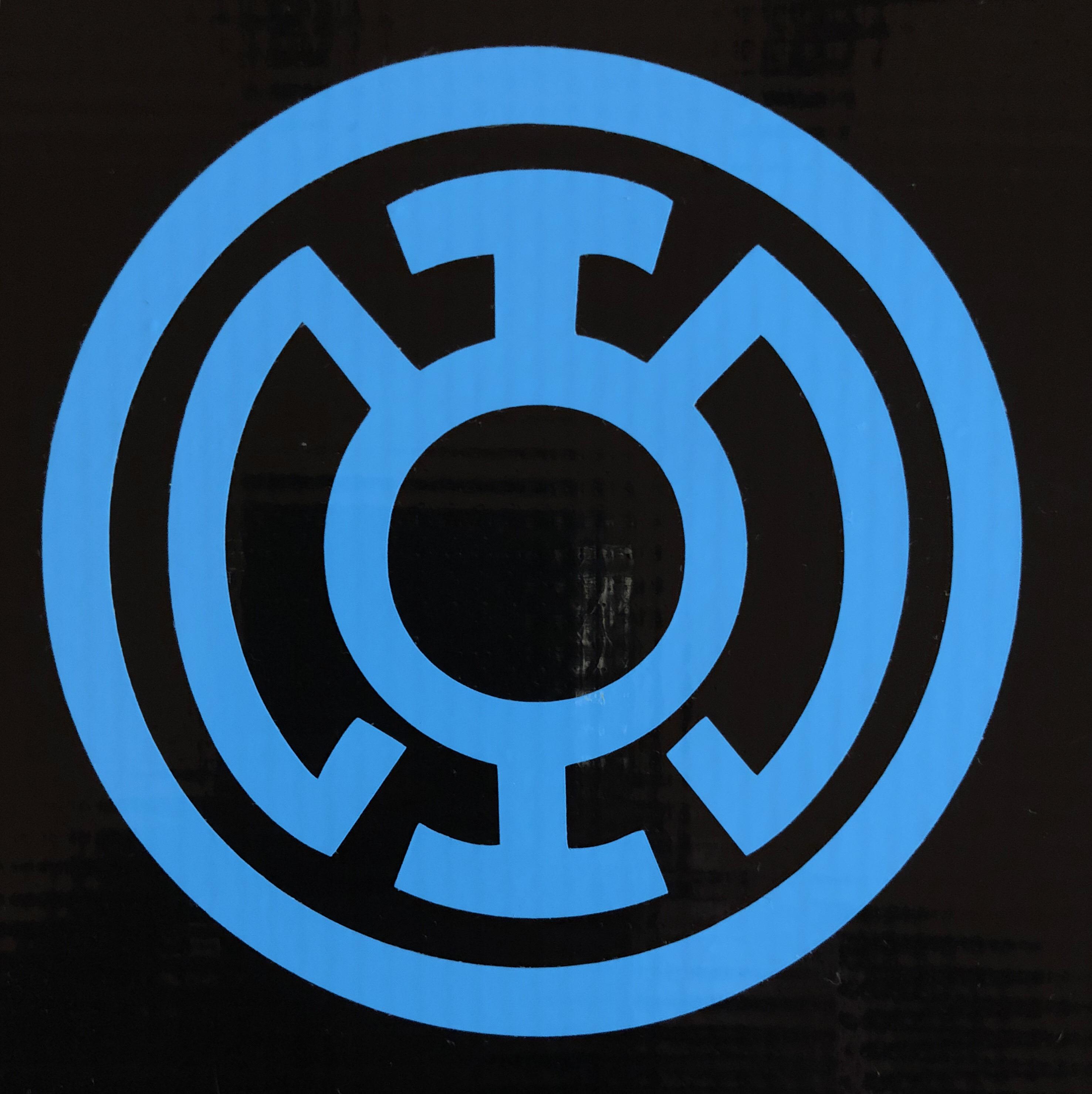 DC Blue Lantern War of Light   Bitchen Stickerz