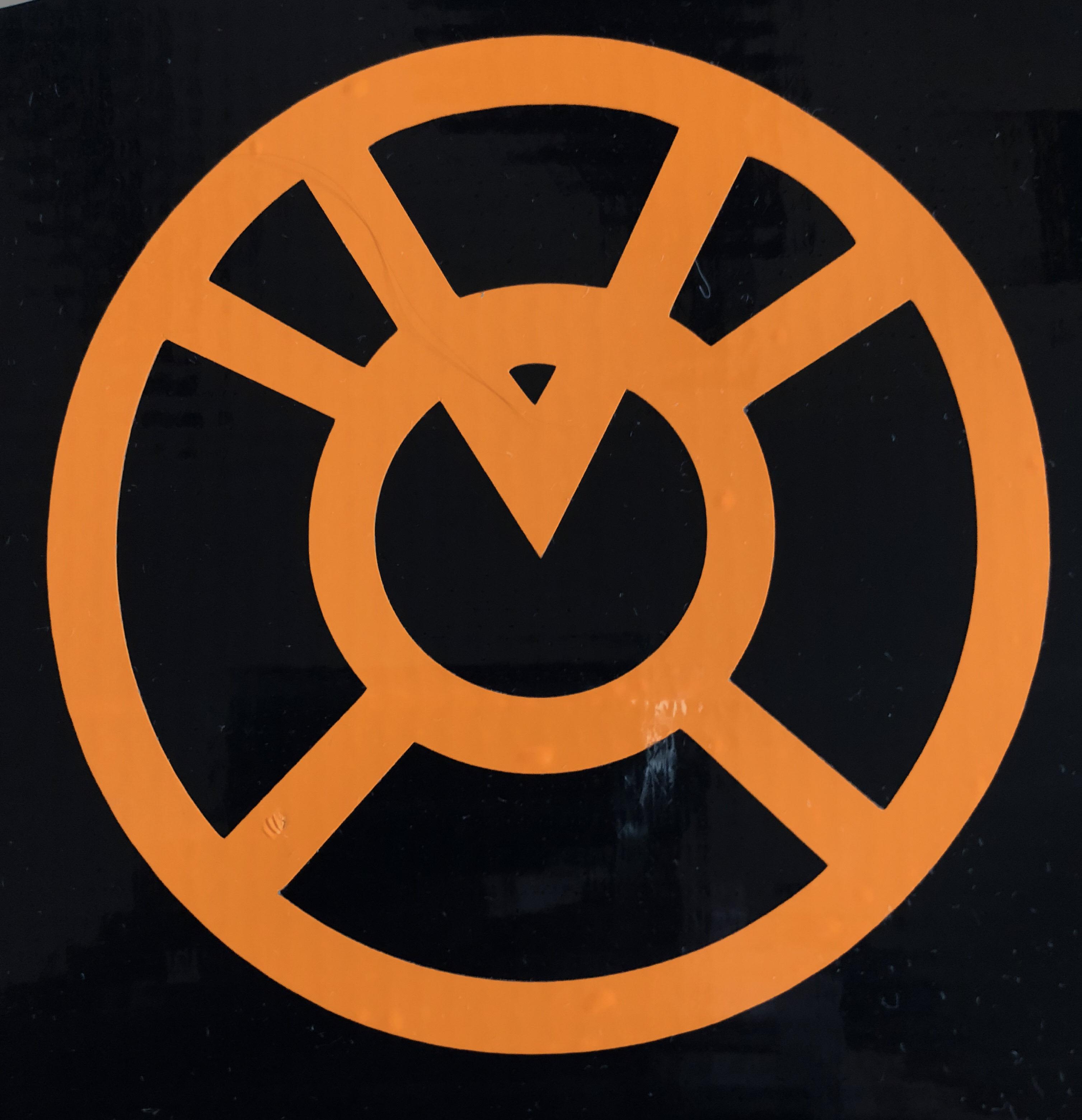 DC Orange Lantern