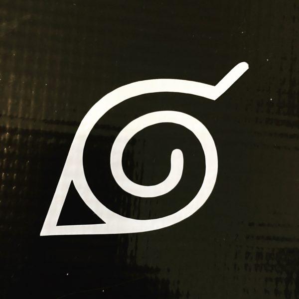 Naruto Hidden Leaf Village Symbol Bitchen Stickerz