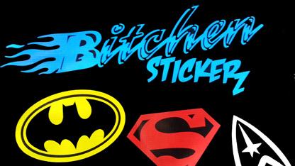 Bitchen Stickerz