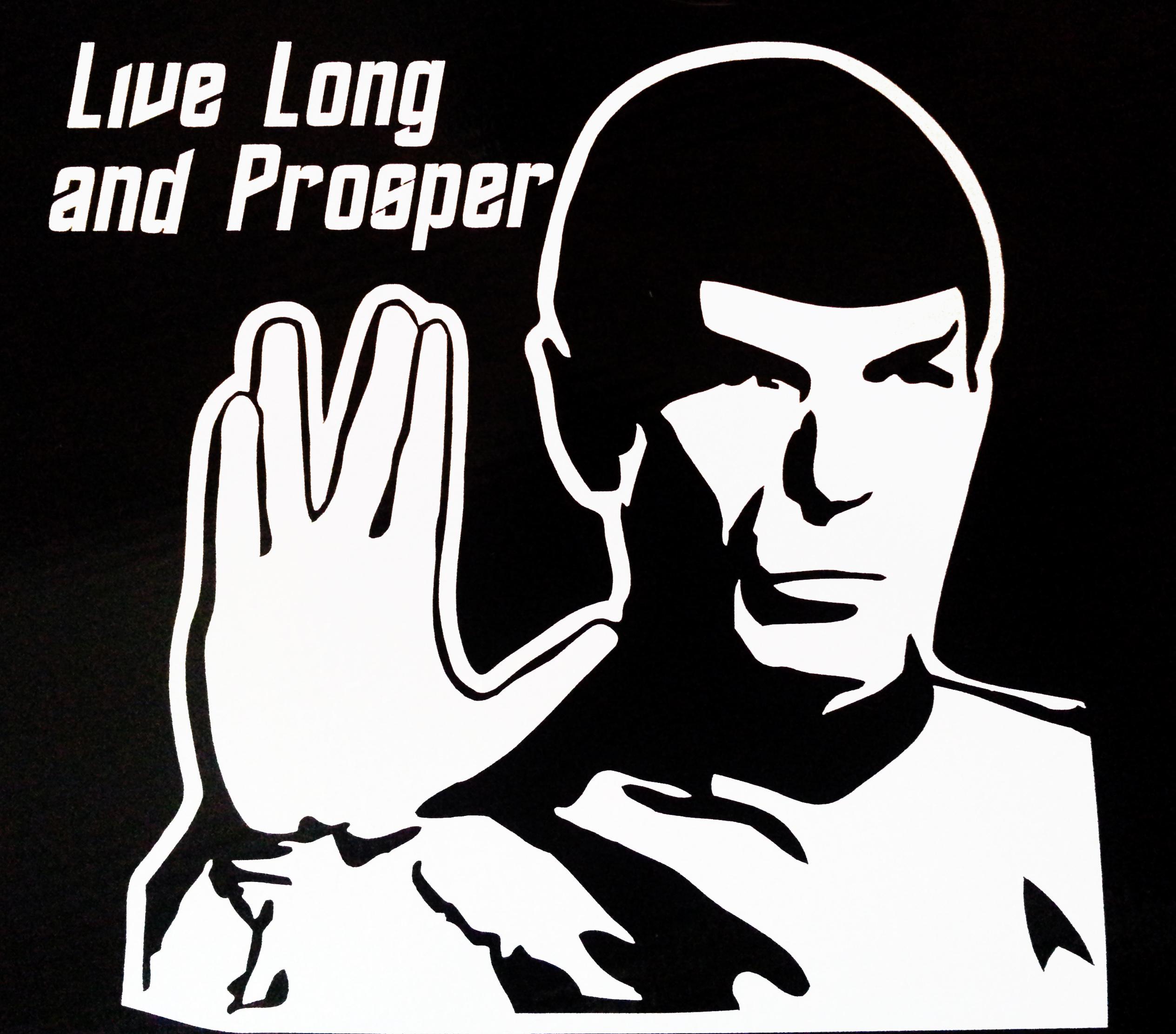 startrek Spock Live Long