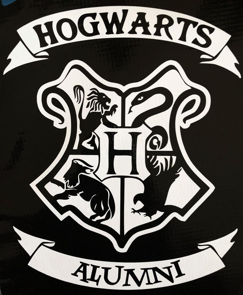 Harry Potter Hogwarts Alumni Die Cut Vinyl Decal Bitchen