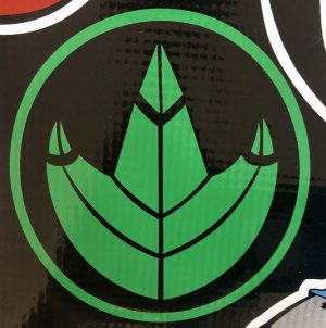 Power Rangers Green Coin Symbol